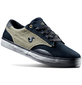 DVS Daewon 14 Shoes - Navy Suede/Canvas