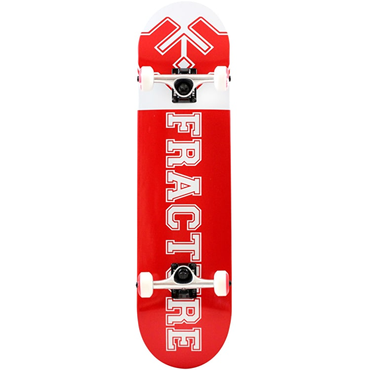 """Fracture Uni Complete Skateboard - Red 8"""""""