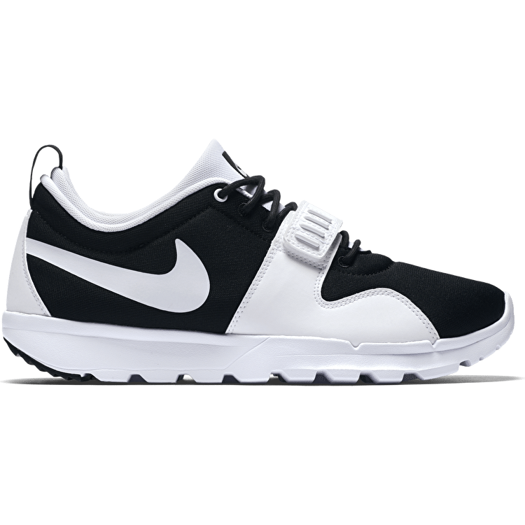 Nike SB Trainerendor Skate Shoes - Black/White