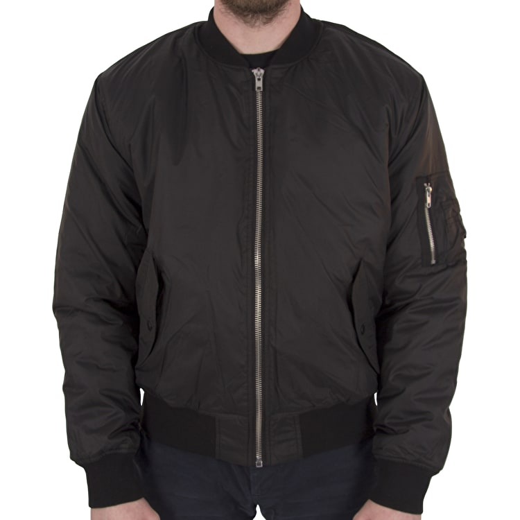 Hype MA1 Bomber Jacket - Black