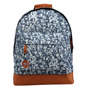 Mi-Pac Denim Backpack - Bleached Indigo