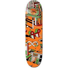 Element Elna Positive Billboards Wisdom Skateboard Deck - Mason 8