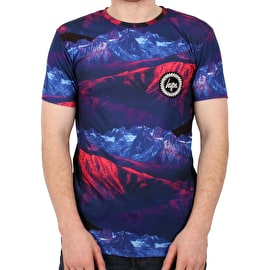 Hype Layer Mountains T Shirt - Multi
