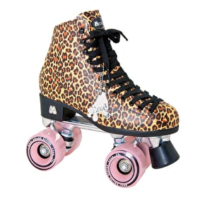 Moxi Ivy Jungle Leopard Quad Skates UK 8 (B-Stock)