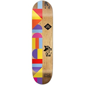 Girl LA8 x The Art Dump Skateboard Deck - Biebel 8