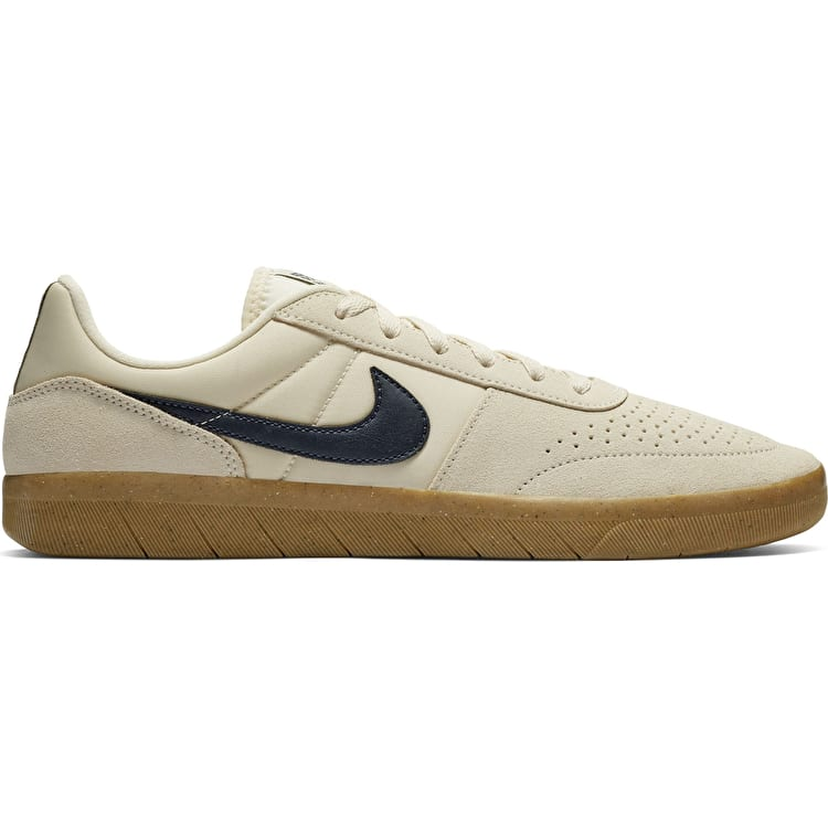 Nike SB Team Classic Skate Shoes - Light Cream/Obsidian/Gum Yellow