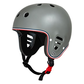 Pro-Tec Full Cut Certified Helmet - Matte Grey Trike