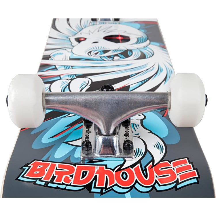 Birdhouse Stage 1 Hawk Spiral Complete Skateboard - Grey 7.75""