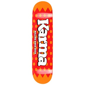 Karma Lolli Pop Skateboard Deck - Strawberry