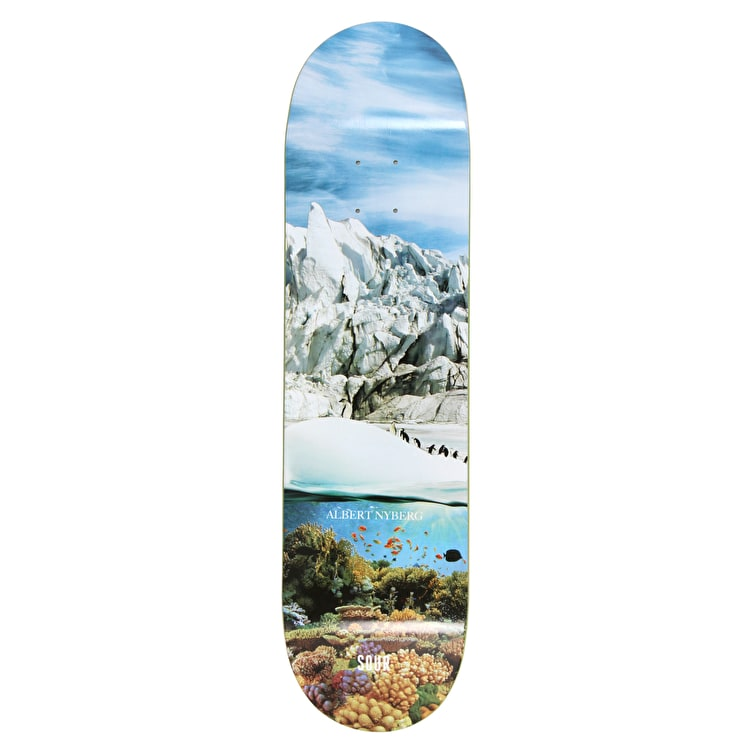 """Sour Tropical Ice Nyberg Skateboard Deck 8.125"""""""