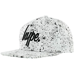 Hype Speckle Cap - White/Black