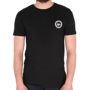 Hype Crest T-Shirt - Black