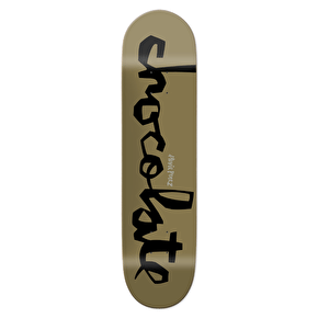 Chocolate Original Chunk Skateboard Deck - Perez 8