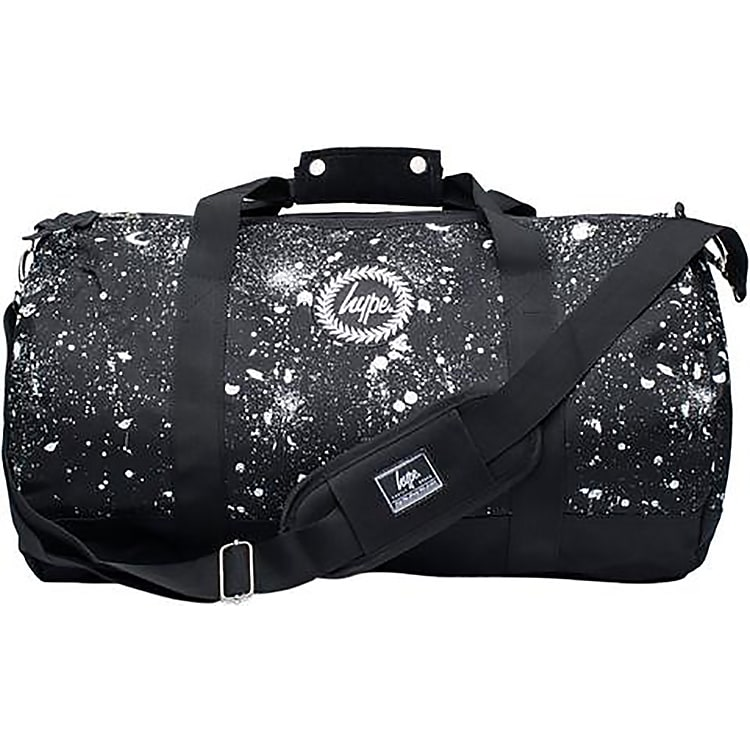 Hype Splat Holdall - Black/White