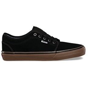 Vans Chukka Low Skate Shoes - (Work Wear) Black/Gum