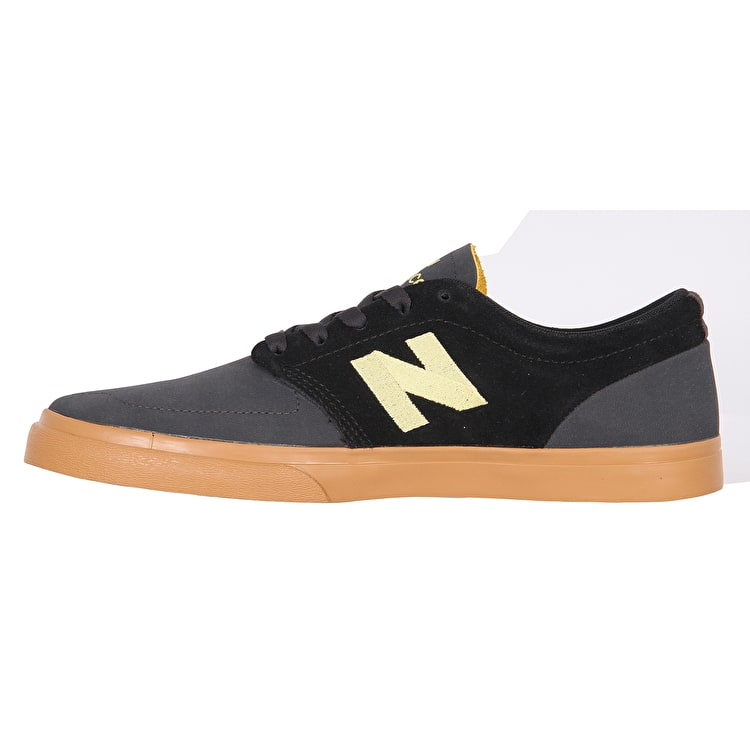 New Balance 345 Skate Shoes - Black/Yellow