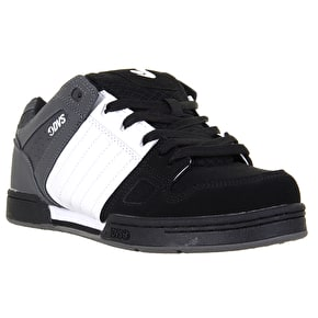 DVS Celsius Skate Shoes - Black/White/Grey Nubuck