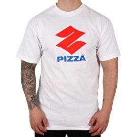 Pizza Pizuki T Shirt - White