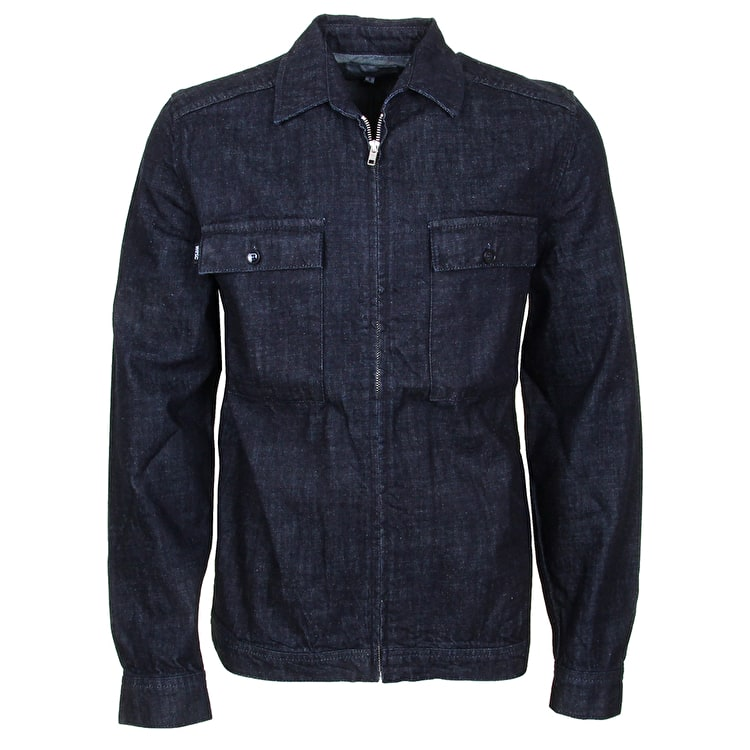 WeSC Rod Denim Jacket - Dark Slub
