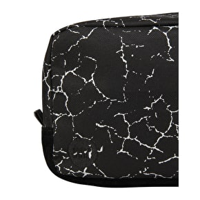 Mi-Pac Cracked Travel Bag - Black/Silver