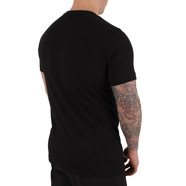 ReVive Grid T-Shirt - Black