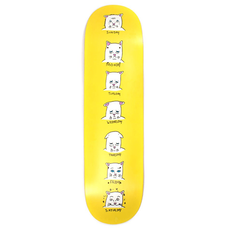 RipNDip Caturdays Skateboard Deck - 8.5""