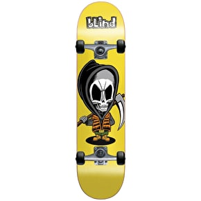 Blind Bone Thug Soft Wheel Complete Skateboard - Yellow 7.375