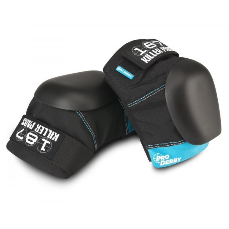 187 Pro Derby Knee Pads - Black / Blue