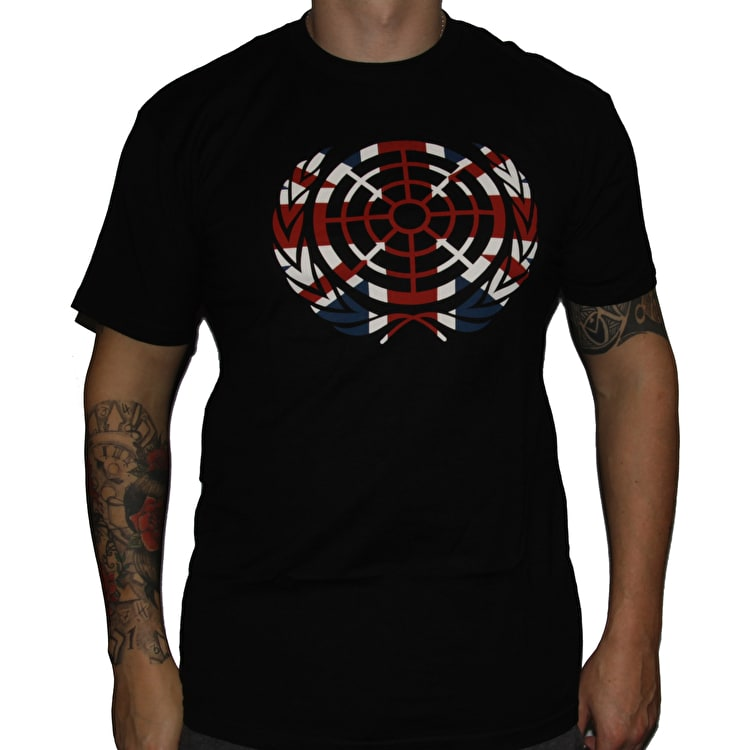 The Berrics Union Jack Icon T-Shirt - Black
