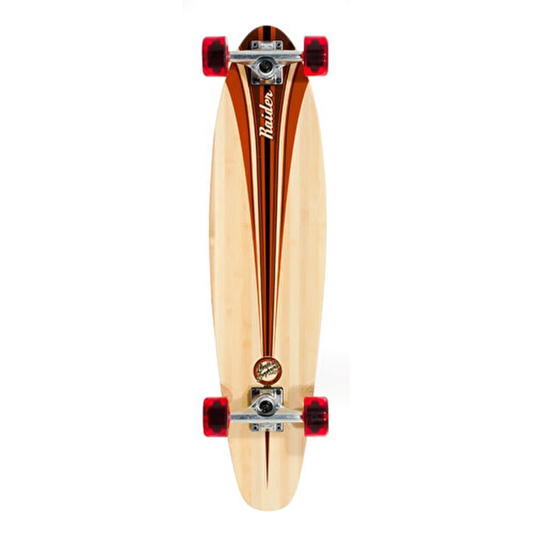 Mindless Raider III Complete Longboard - Brown 34""