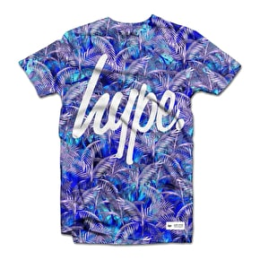 Hype Blue Palm T-Shirt