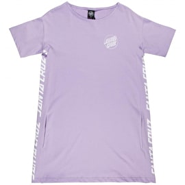 Santa Cruz Strip Panel Dress - Lilac