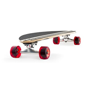 Mindless Tribal Rogue II Complete Longboard - Black/Red 38