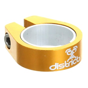 Single V2 Lightweight District Collar Clamp