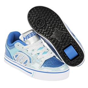 B-Stock Heelys Motion Plus - Blue/Ice Blue UK 1 (Box Damage)