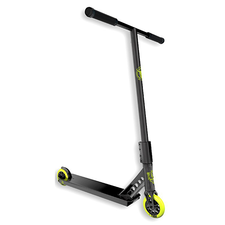 Lucky 2017 EVO Pro Complete Scooter - Black Highlighter
