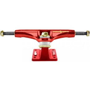 Thunder Hi 149 Lights Academy Skateboard Trucks - Formula Red