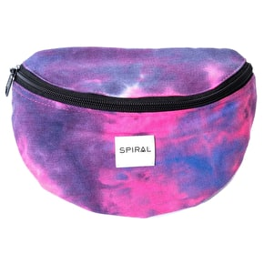 Spiral Harvard Bum Bag - Tie Dye Daze