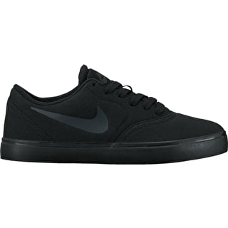 Nike SB Check Canvas (GS) Kids Skate Shoes - Black/Antracite