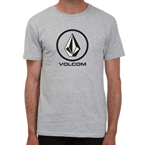 Volcom Circlestone T-Shirt - Heather Grey