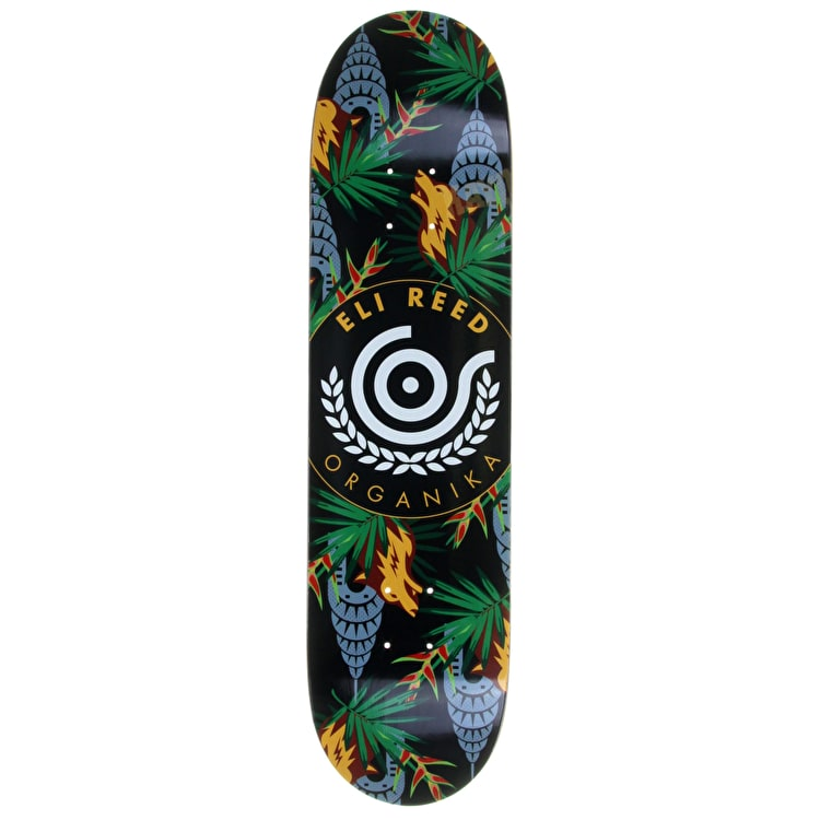 Organika Skateboard Deck - Concrete Jungle - Reed - 7.9''