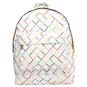 Mi-Pac Backpack - Crisscross White