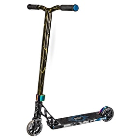 Grit 2018 Elite Complete Scooter - Grey/Gold Quake