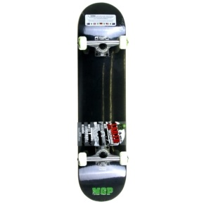 MGP Jive Series Complete Skateboard - Tailed Logo Black 7.5