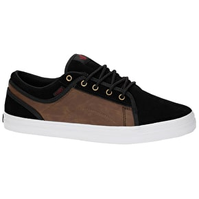 DVS Aversa Skate Shoes - Black/Brown