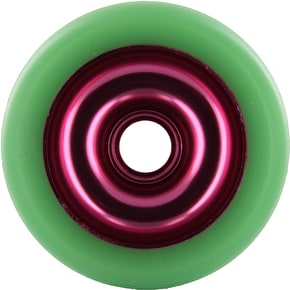 Eagle Red core Green Pu Metal Core wheel - 100mm