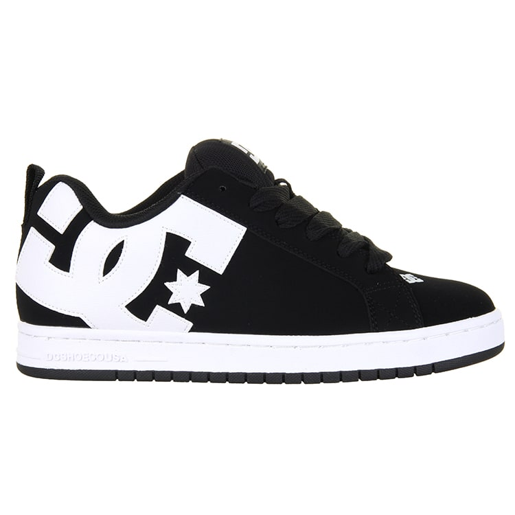 DC Court Graffik Skate Shoes - Black