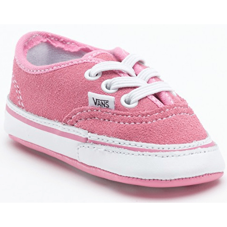 Vans Authentic Crib Shoes - Aurora Pink/True White