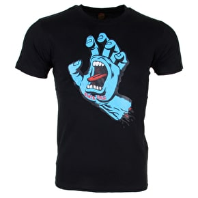 Santa Cruz Kids T-Shirt - Screaming Hand Black