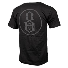 Rebel8 Reflective T-Shirt - Black
